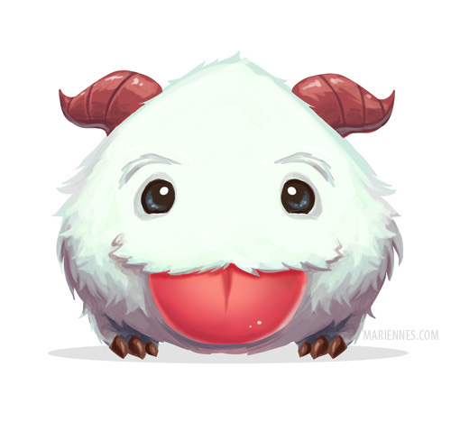 Poro by MarianaEnnes on DeviantArt