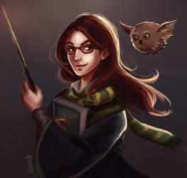 Sketch - Slytherin Portrait