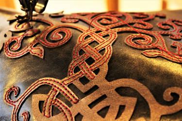 work in progress : sewing an yggdrasil by MARIEKECREATION