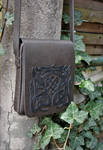 Celtic knotwork for a men's bag by MARIEKECREATION