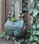 Ivy leaves bag by MARIEKECREATION