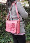 Hibiscus shoulder bag by MARIEKECREATION