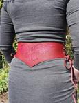 Owl waist belt by MARIEKECREATION