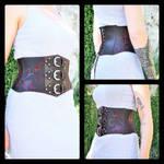 Photos of waist belt collection by MARIEKECREATION