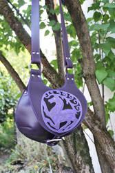 Purple bag by MARIEKECREATION