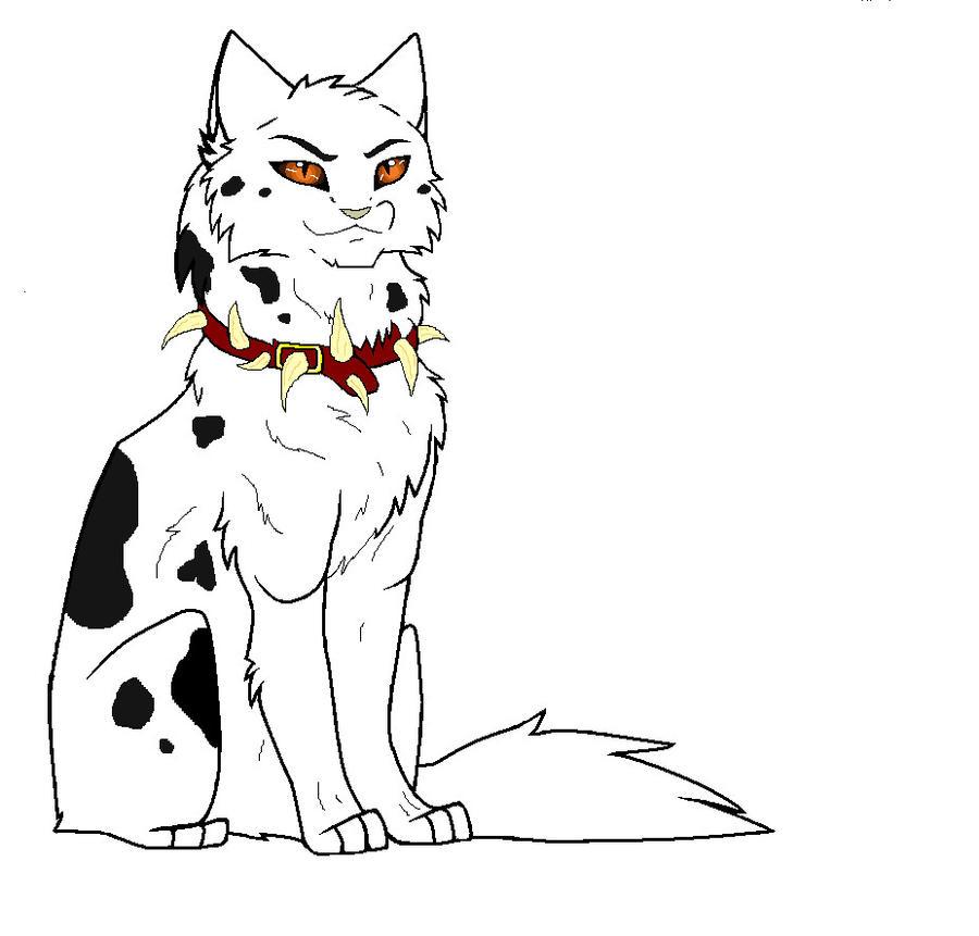 Раскраски котов воителей бич