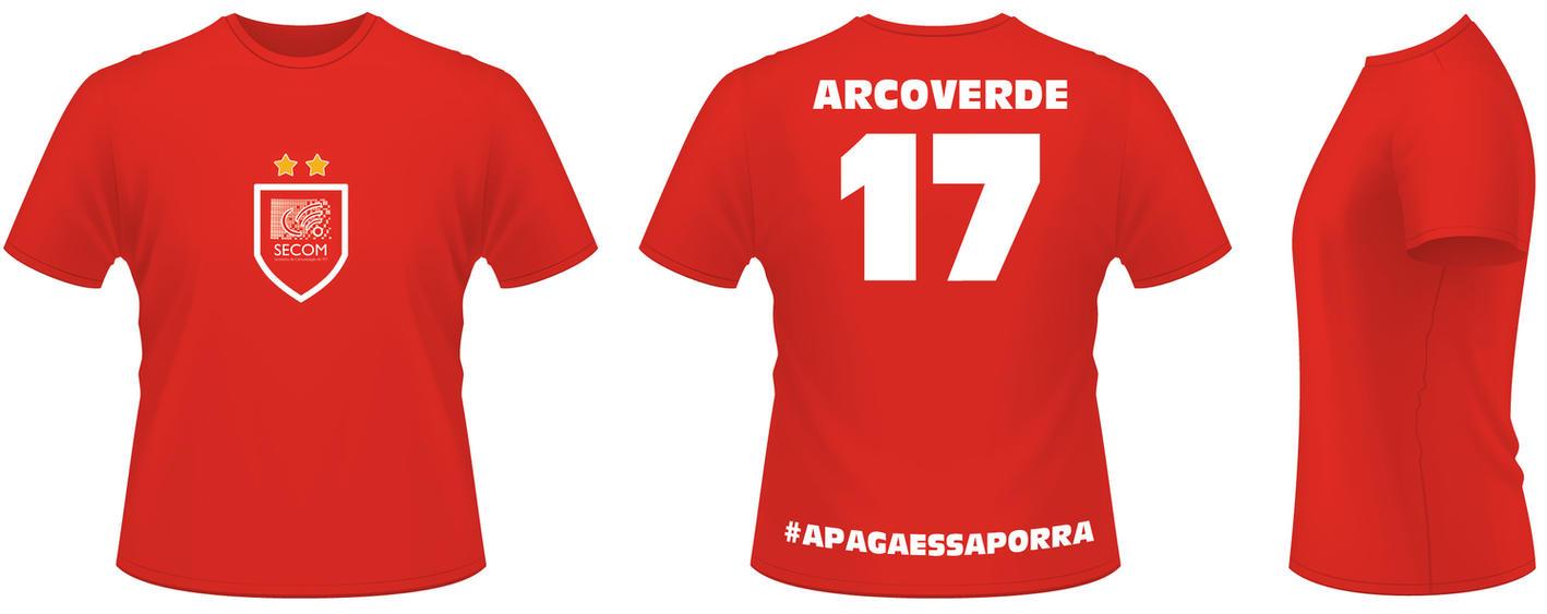 Camiseta Personalizada Dirceu Arcoverde by CarlosRamosWeb