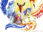 Pokemon - Birds and Dogs