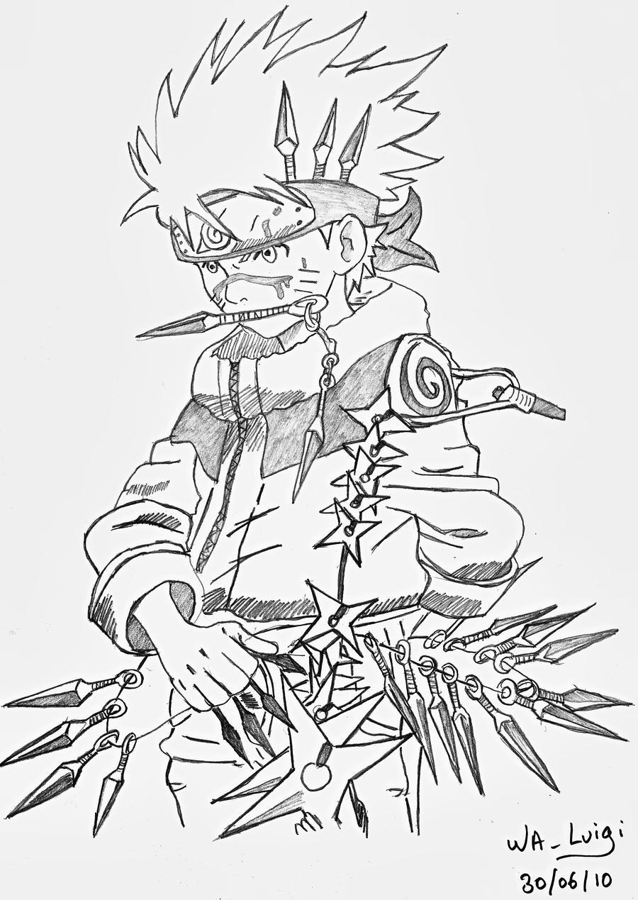 Another Naruto By Wa-Luigi On DeviantArt