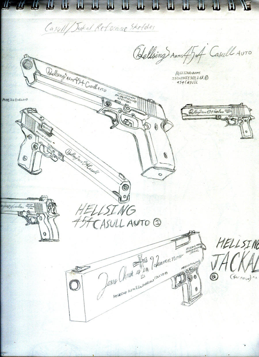 Casull and Jackal Reference by vendixnosferatu