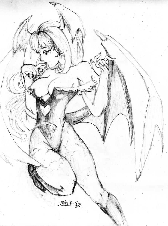 Fanart of Morrigan by Raito-kuN-7