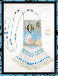 Angelfish Ocean Amulet Bag