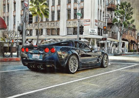 Chevrolet Corvette ZR1 by 2fast-2catch