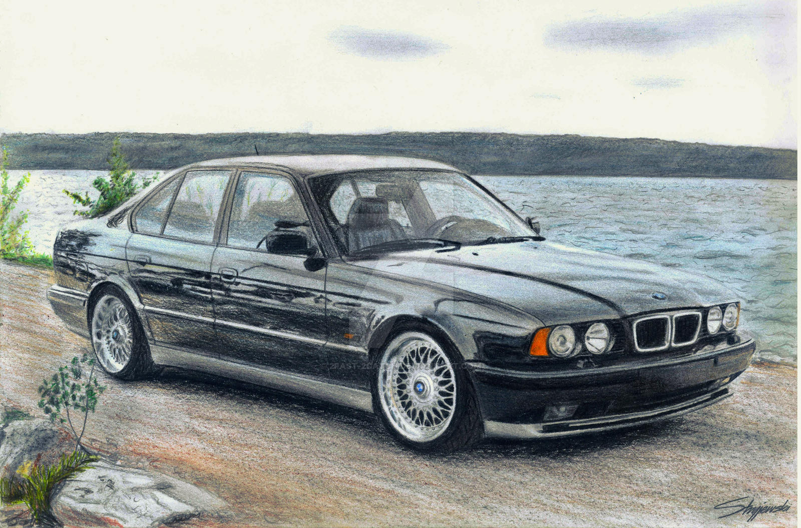 bmw e34 m5 by 2fast 2catch on deviantart. Black Bedroom Furniture Sets. Home Design Ideas