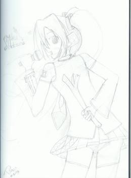 Backside Miku GO GO