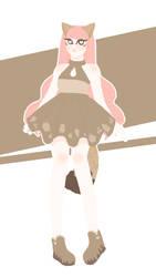 (CLOSED)Ice Cream kenomomimi adoptable #D by GabyGabyN