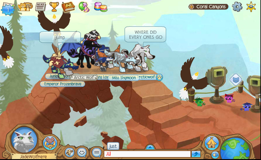 EAGLES ANIMAL JAM!!!!!!!!! by FireFly1800