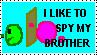 I like to Spy my bro by FireFly1800