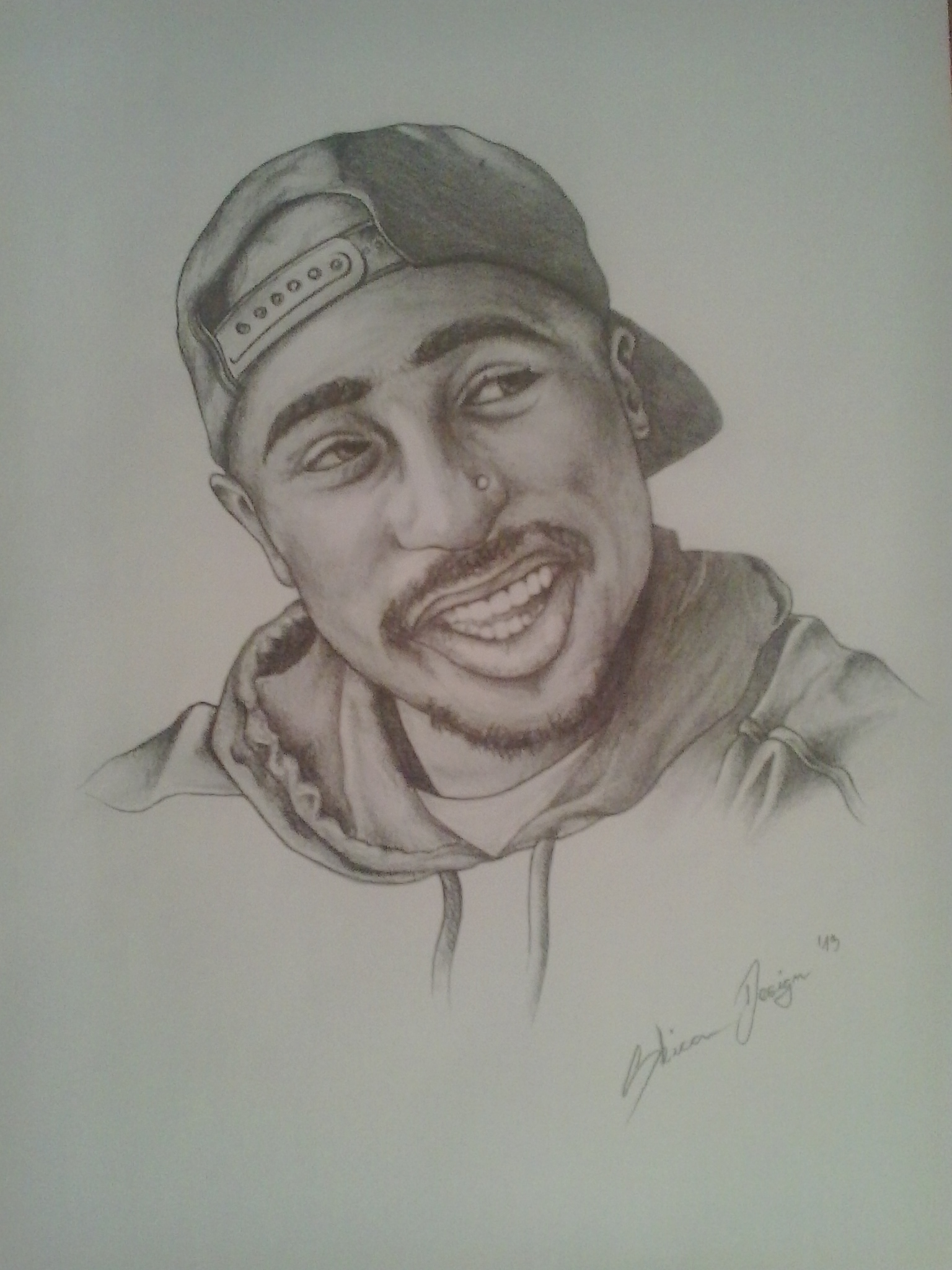 2PAC Drawing By SkicaDesign On DeviantArt