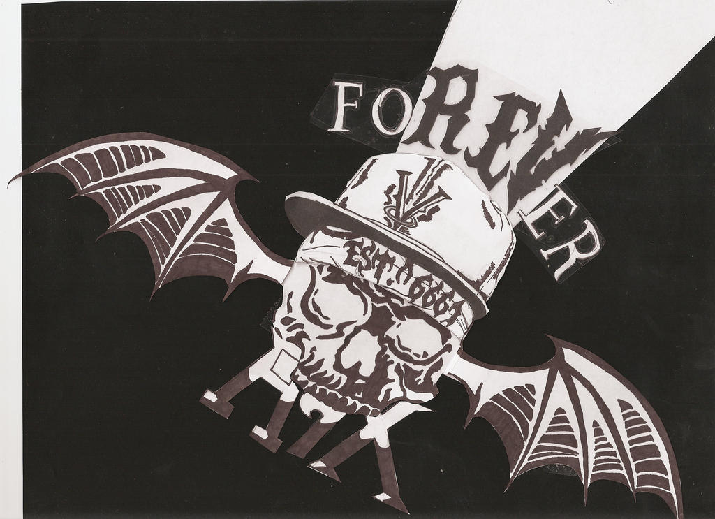 Avenged Sevenfold Afterlife Wallpaper A7X tattoo Remade by konan-