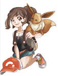 Pokemon Let's Go Eevee - Team Eevee