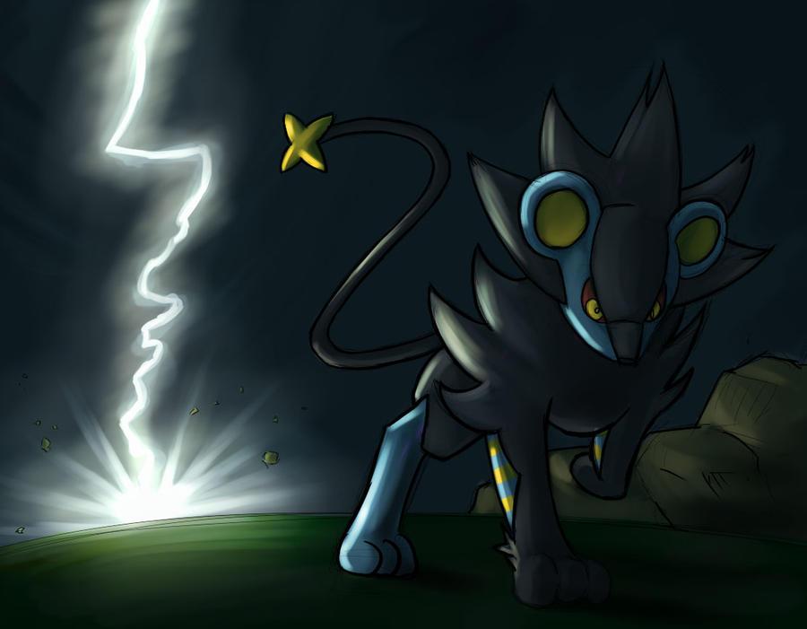 random pokemon luxray by dsurion on deviantart