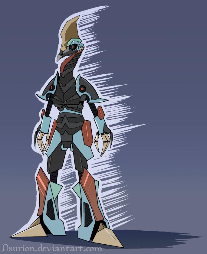 Cassowary Robot by Dsurion