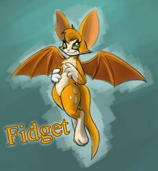 Fan Art - Fidget by Dsurion