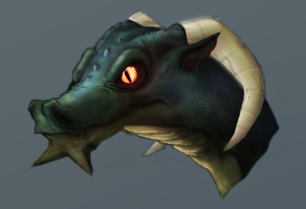 Random Dragon by Dsurion
