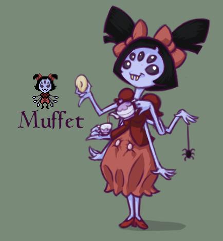 Undertale - Muffet by Dsurion