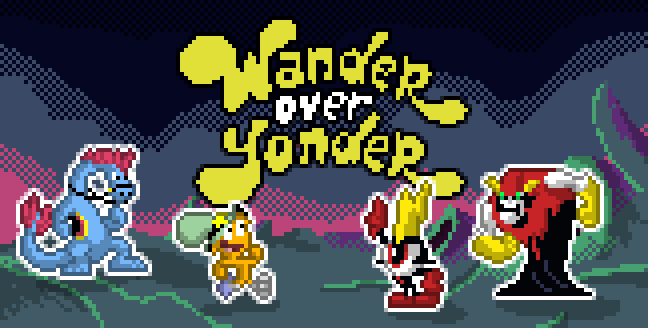 Pixel over Yonder by Dsurion