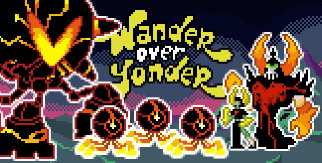 Pixel Over Yonder 3 by Dsurion
