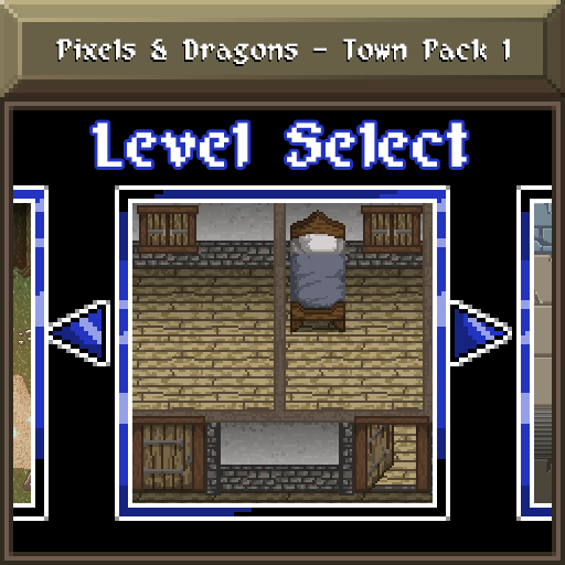 Pixels and Dragons - Town Pack 1 by Dsurion