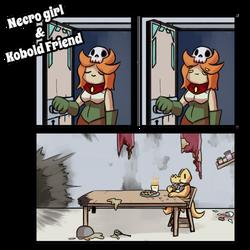 Necro Girl and Kobold Friend - 109