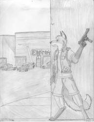 Gift for WBMJ, Fox Tayle by GriffinDogR34