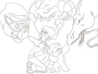 SSG Cover Lineart