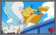PikachuPachirisu Stamp-ish Thing by TsukaimonBOOM