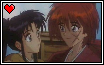 KenshinKaoru Stamp-ish Thing by TsukaimonBOOM