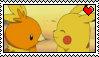 PikachuTorchic Stamp-ish Thing by TsukaimonBOOM