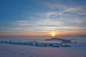 Winter Evening by ErwinStreit