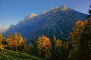 Autumn in Glarnerland by ErwinStreit