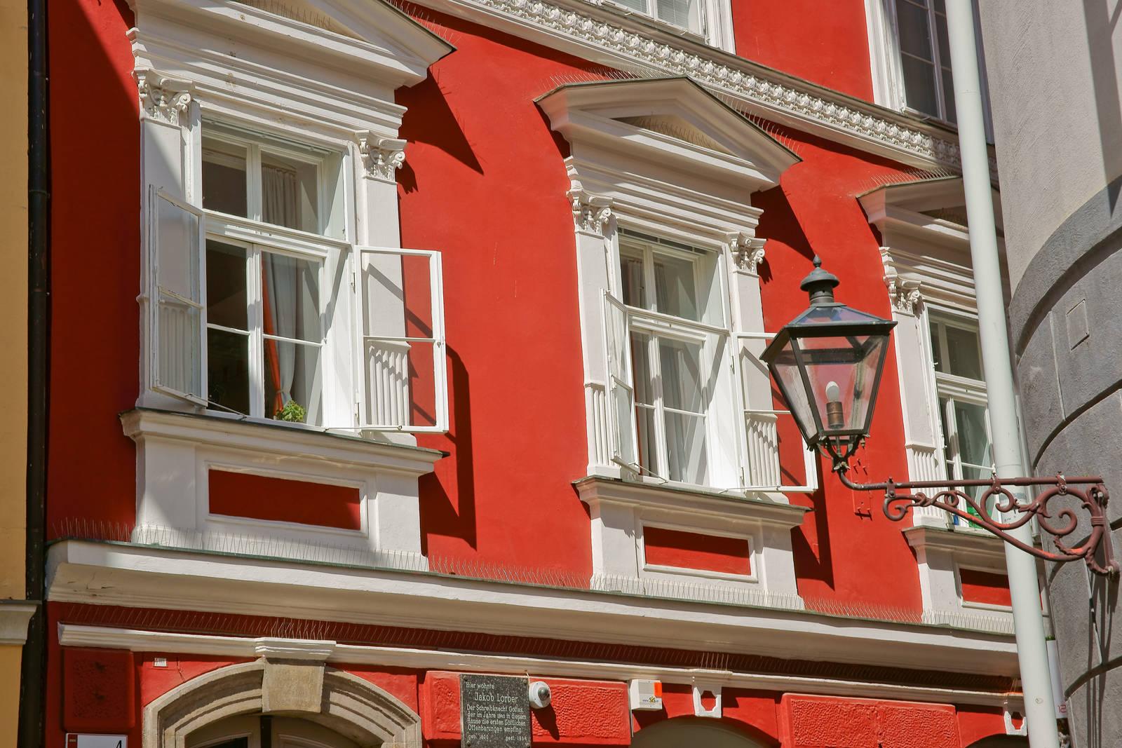 House of Jakob Lorber in Graz by ErwinStreit