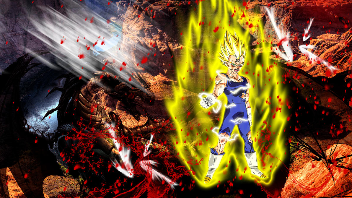 majin vegeta wallpaper (hd)boeingfreak on deviantart