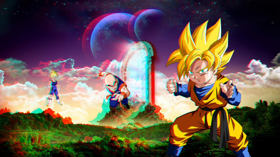 Dbz wallpaper in full hd 1080p 3d by boeingfreak on deviantart - Videoprojecteur full hd 3d ...
