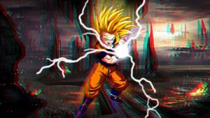 Super Saiyan 2 Gohan 3D 1080p