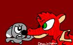 Dog vs.Dragon