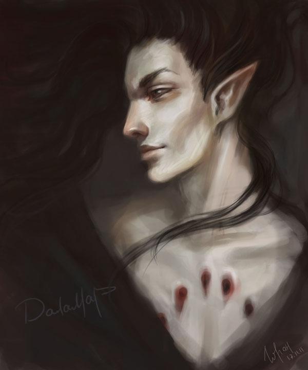 DragonLance  Dalamar by Goran-Alena