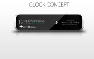clock concept design by pedrocasoa