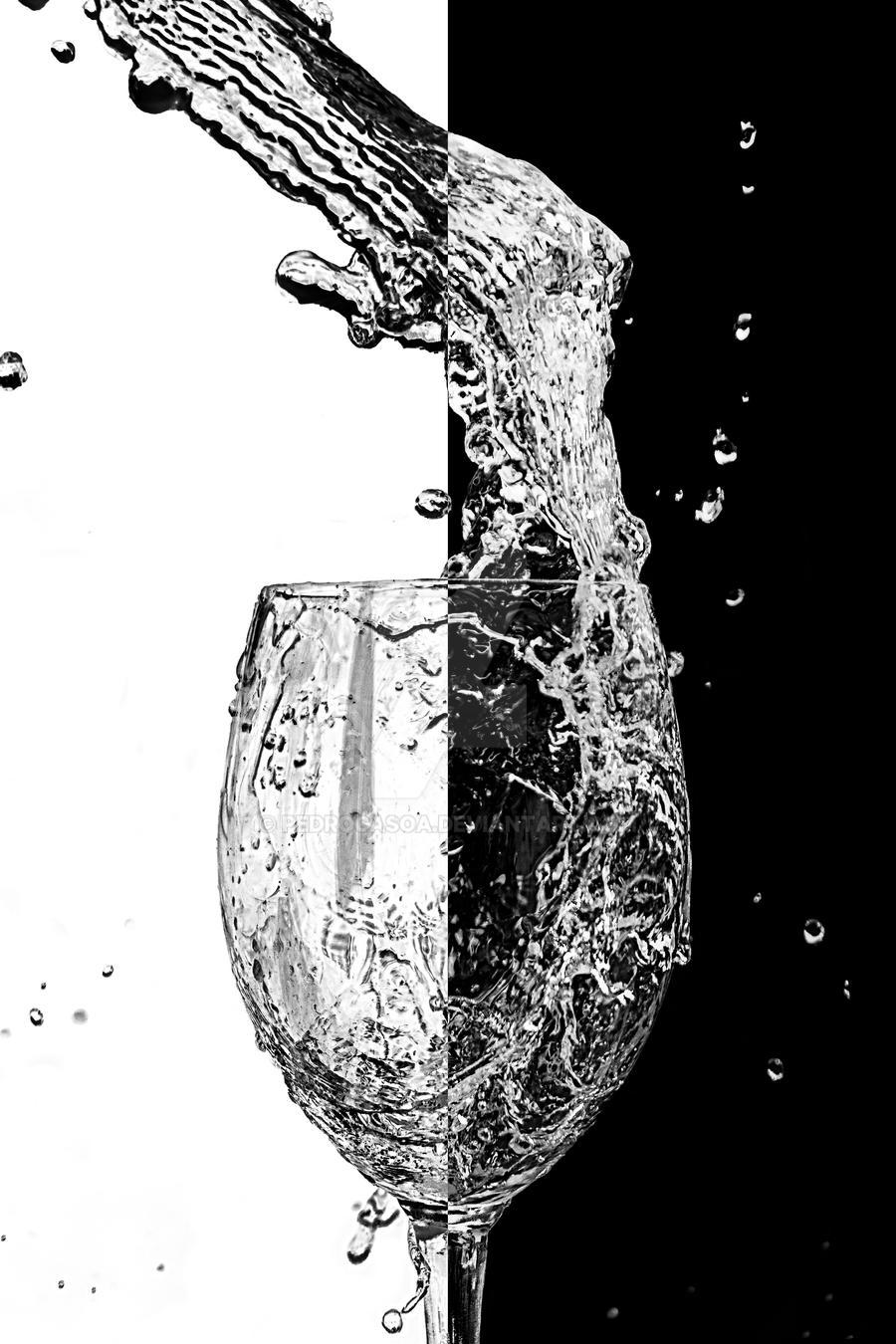 Cup black white by pedrocasoa