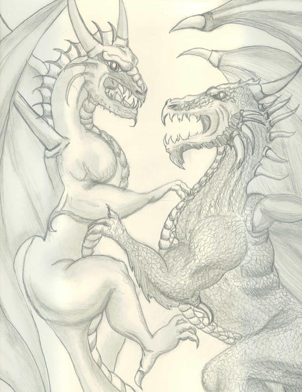 Dragons by Tara1974